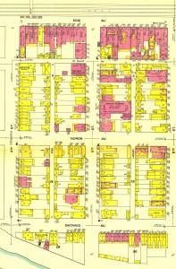 Sheet 3, 1911 Sanborn Map, Renovo, PA